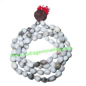 Vaijayanti Wood Beads-Seeds String (mala of 108 vaijayanti 6-7mm beads + 1 rudraksha 16mm beads), pack of 1 string.