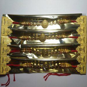 Fancy rakhi for Hindu festival Rakshabandhan celebration, Indian festival rakshabandhan rakhi, pack of 1 pcs. as per picture.