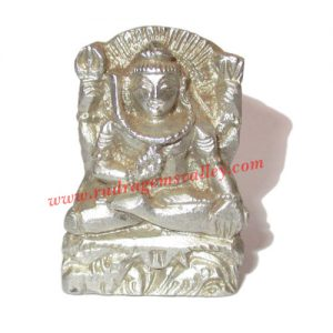 Parad mercury lord shiva statue idol, parad shiva idol, weight approx 60 grams, size 42x22x10mm. It is used for chanting mantras for spiritual attainments as well as multiple health benefits including diabetes, blood pressure and heart diseases by praying