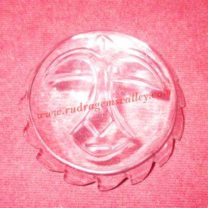 Sphatik crystal Sun, prayer accessories, Belgium shphatik shivalingam, weight approx 87 grams, pack of 1 piece.
