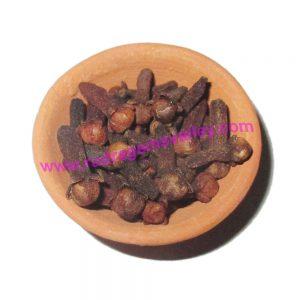 Pooja materials (puja samagri) clove (laung),