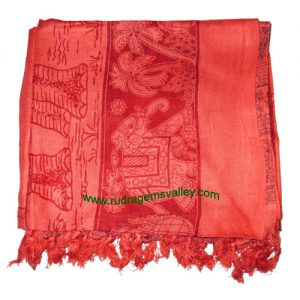 Fine quality forest-elephant soft yoga scarves, material staple rayon, size 182x100 CM., weight approx 150 grams, minimum order 1 pcs.