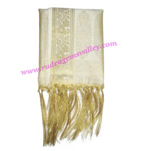 Indian silk scarves, banarasi chadar, fine quality fancy printed design indian silk scarves for women, size 86x43 inch. excluding tassels, weight approx 280 grams, minimum order 1 pcs.