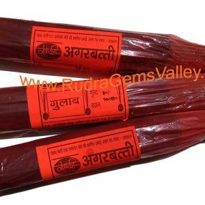 Sharp ayurvedic herbal agarbatti-rose flavour, uttar pradesh khadi gramodyog product agarbatti, Pack of 1 bundles, approx 70-75 sticks, weight 100 grams.