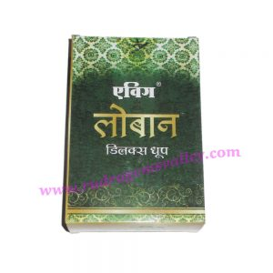 Evig Lohban Delux Dhoop, pleasant fragrance for creating peaceful and divine prayer environment. Pack of 1 box.