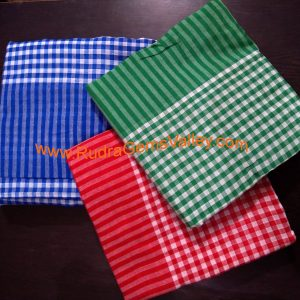Bulk buy check style cotton gamachha JLX, cotton scarves for protection from dirt and dust, unisex cotton gamacha mix color, 4 sets of 160 centimeter, Pack of 25 Sets = 100 pcs.