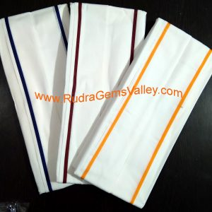 Bulk buy white cotton gamachha JLDR, cotton scarves for protection from dirt and dust, unisex cotton gamacha white, 200 centimeter, Pack of 100 Pcs.