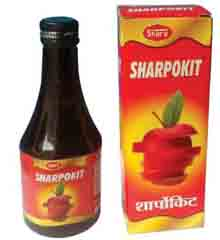 Sharpokit Health Tonic, useful in Anaemia, Loss of Appetite and Dibility.